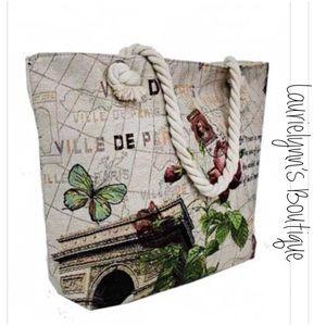 Coming soon!Arc De Triomphe in Paris tapestry tote